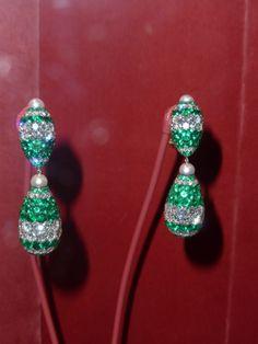 JAR earrings at the MET exhibit!
