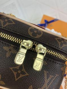 NICE VANITY MAKE UP | Theluxinbox Lv Tote, Beauty Essentials, Monogram Canvas, Cowhide Leather, Dust Bag, Vanity, Make Up, Nice, Stylish
