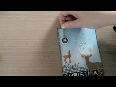 Made by Sannie: Tear up Christmas card with video tutorial