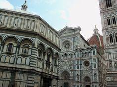 Baptistery and Duomo - Florence, Italy Honeymoon May 2013