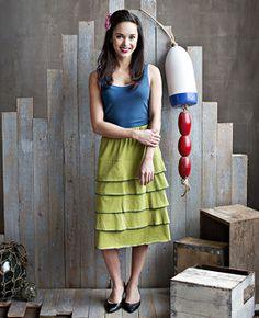Matilda Jane Clothing's Block Party Skirt, sizes S-L, $68.00. #matildajaneclothing #MJCdreamcloset