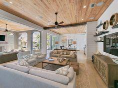 coastal family room | Nest Interior Design