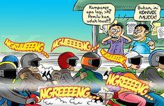 Kartun Benny, Kontan Juli 2014: Konvoi Untuk Mudik