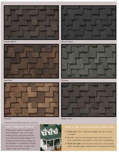 Best Owens Corning Shingle Colors Color Chart Owens Corning 400 x 300
