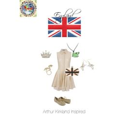 """Hetalia- England Outfit"" by bella-fortunato on Polyvore"