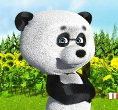 Маша и медведь картинки панда
