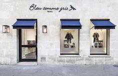BLEU COMME GRIS par Ma Sérendipité  |  Inauguration de la nouvelle boutique du boulevard Saint-Germain à Paris (photo ©www.louisedesrosiers.fr)  •  www.ma-serendipite.com