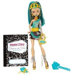Monster High Nefera de Nile Doll  Order at http://www.amazon.com/Monster-High-Nefera-Nile-Doll/dp/B006WAJM1A/ref=zg_bs_toys-and-games_61?tag=bestmacros-20