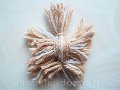 Free Crochet Yorkie Dog Pattern With Video Crochet Dog Sweater, Crochet Yarn, Free Crochet, Diy Crafts Vintage, Cute Crafts, Pom Pom Crafts, Yarn Crafts, Yarn Animals, Yarn Dolls