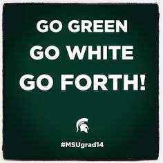 Congrats to the soon-to-be #MichiganState alums! Welcome to the real world