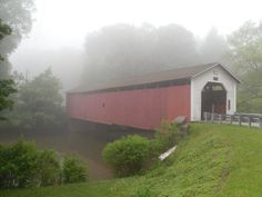 Old covered bridges!
