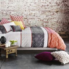 Adairs - Bedroom - Quilt Covers & Coverlets - Home Republic - Morocco