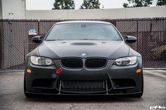 A Matte Black Beast Of A BMW M3 By European Auto Source - http://www.bmwblog.com/2016/12/27/a-matte-black-beast-of-a-bmw-m3-by-european-auto-source/