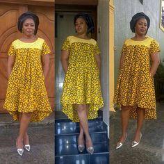 📷📷 in Thalia ready to wear Ankara dress. African Dresses For Women, African Print Dresses, African Attire, African Fashion Dresses, African Wear, African Women, Ghanaian Fashion, African Prints, African Inspired Fashion
