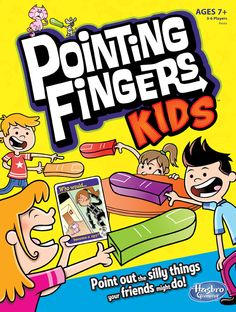 Pointing Fingers Kids cover (Hasbro)