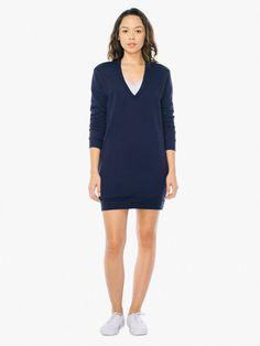 Fleece kjole American Apparel