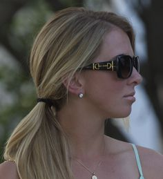 Gucci Sunglasses with horse bit #equestrianstyle ♕The Bizi Bee♕: Minty Rose #chaserace
