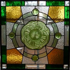 WildwindGlass, Celtic plate stained glass panel