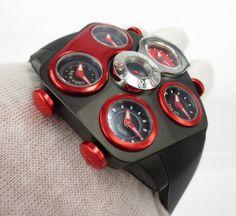 ジェイコブ時計 コピー G5シリーズグランド JC-GR4-17 ケース径 47mm ケース素材 ステンレススチール(ブラックPVD) ムーブメント クォーツ cal.ETA956.112 防 水 性 30m ストラップ ブラック天然ラバー ロゴバックル(SS&0.092ct ブラックダイヤモンド) 備考 5つの時刻表示(ローカル、東京、NY、LA、パリ) サファイアクリスタル風防