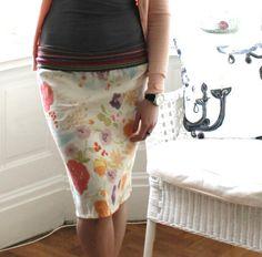 Original womens skirt by oi-io by dekor.studio, Nani Iro double gauze