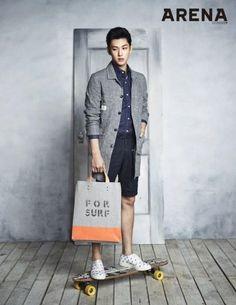 ZE: de A Siwan parece suave em ternos para 'Arena Homme Plus' - Hi! K-POP