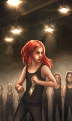 baby Natasha in the Red Room fanart by moonriot<<<She even looks like a young Scarlett Johansson!!
