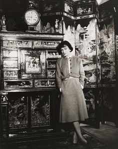 1954. Coco Chanel, Photo by Louise Dahl-Wolfe.