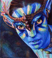 neytiri - avatar - ballpoint pen - VianaArts's deviantART Gallery