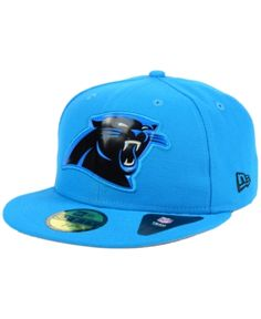 3ada2145e New Era Carolina Panthers Beveled Team 59FIFTY Cap Men - Sports Fan Shop By  Lids - Macy s