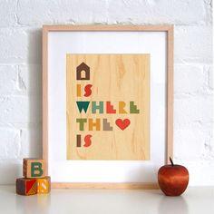 Petit Collage Hello Monkey - Print on Wood modern kids decor Modern Kids Decor, Apple Prints, Baby Owls, Giraffe Baby, Baby Baby, Fox Baby, Giraffe Print, Tree Print, New Blue