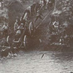 Ossen trekken Creusot-kanon over de Kliprivier in Zuid-Afrika, anonymous, 1899 - 1900 - Search - Rijksmuseum Armed Conflict, Africa, War, History, Historia