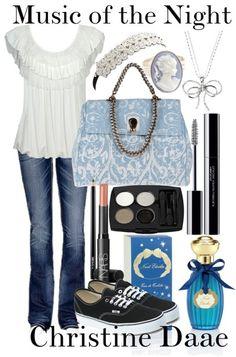 Christine Daae Music of the Night (I love that purse OMG)