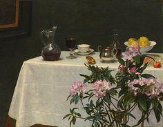 Henri Fantin-Latour, Still Life: Corner of a Table, 1873