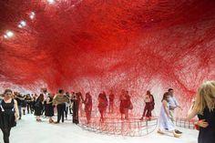 """Exhibition: Chiharu Shiota """"Uncertain Journey"""""""