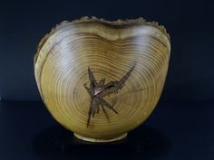 Natural edge Mulberry bowl by Ervin Horn