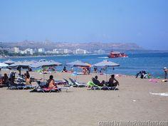 Faliraki Beach - Rhodes Island Greece