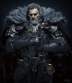 Knight - Final by seungmin Kim / https://www.artstation.com/artwork/knight-final