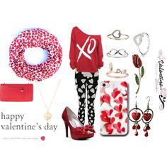 """""""Valentines Dance/ Happy Valentines Day"""" by thenewbornvampire on Polyvore"""