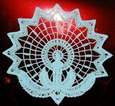 Advanced Embroidery Designs - FSL Battenberg Candle Lace