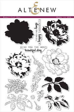 Altenew - BEAUTIFUL DAY - Clear Stamps - Hallmark Scrapbook - 1