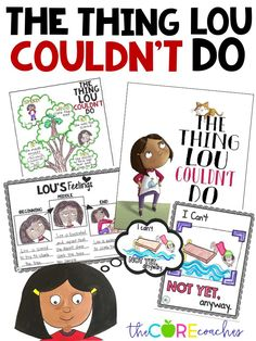From the author of Most Magnificent thing comes The Thing Lou Couldn't Do. Perfect read-aloud to teach growth mindset.