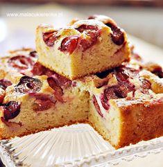 Proste ciasto jogurtowe ze śliwkami - Mała Cukierenka Polish Recipes, Polish Food, Apple Cake Recipes, Food Cakes, Good Ol, Sweet Recipes, Sweet Tooth, Cheesecake, Food And Drink