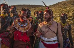 A wedding in the bush - Samburu style! Sabuk Lodge, Laikipia - Kenya www.sabuklodge.com Copyright Vanessa Knight Photography