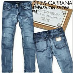 Jeans Dolce & Gabbana Homme H0075