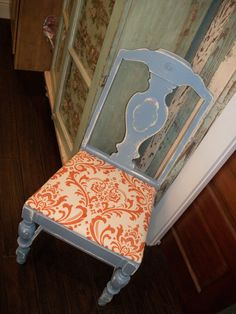 Vintage Chair - Must find at flea market!