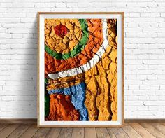 Abstract Art, Art printable, Tree, Tree painted, Nature, Instant download 4 JPG