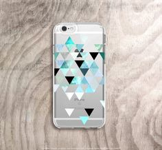 iPhone 6s Case Clear Mint Green iPhone 6s Case by casesbycsera