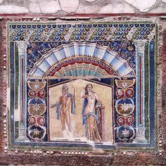 Casa di Nettuno e Anfitrite - They knew how to. Roman scaves of Hercunaneum. Ercolano. Napoli.