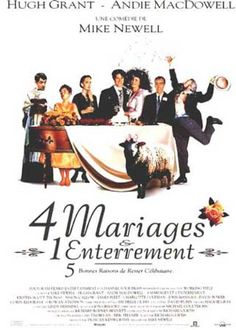 4 mariages et 1 enterrement, Mike NEWELL (1994)