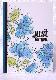 My Card Attic: Happy Little Stampers CAS September Challenge - Colouring